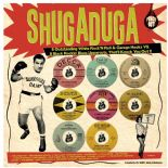LP/VA ✦✦ SHUGADUGA ✦✦ Black Rockin' Blues Uppercuts vs. White R'n'R Garage Hooks